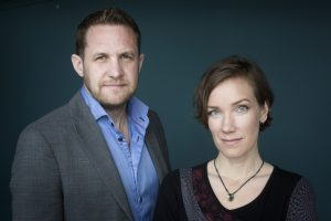 David Widlund och Monica Walldén