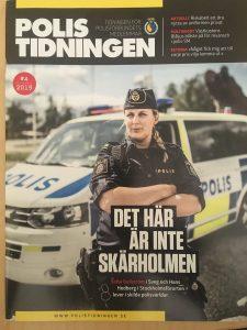 Omslag polistidningen